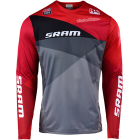 Troy Lee Designs Sprint LS Jersey Men sram jet/gray/red